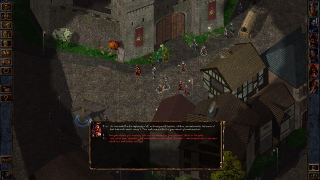Baldur's Gate D&D video game