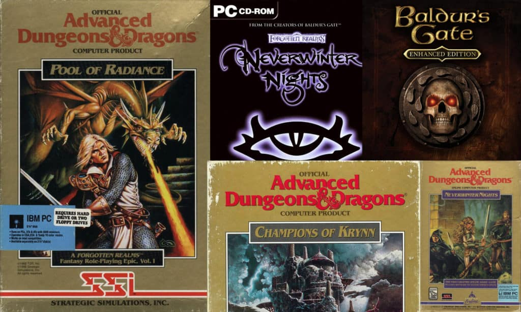D&D video games history