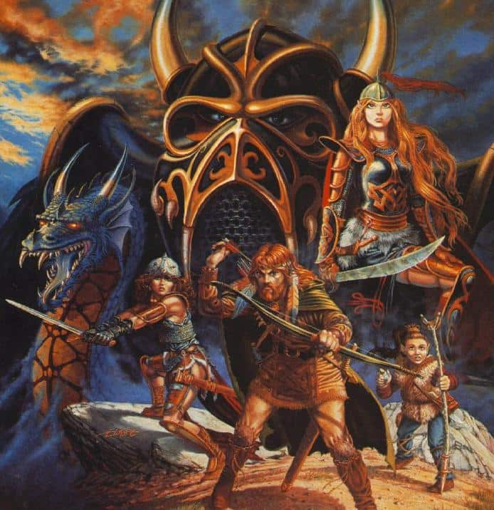 female dragonlance characters