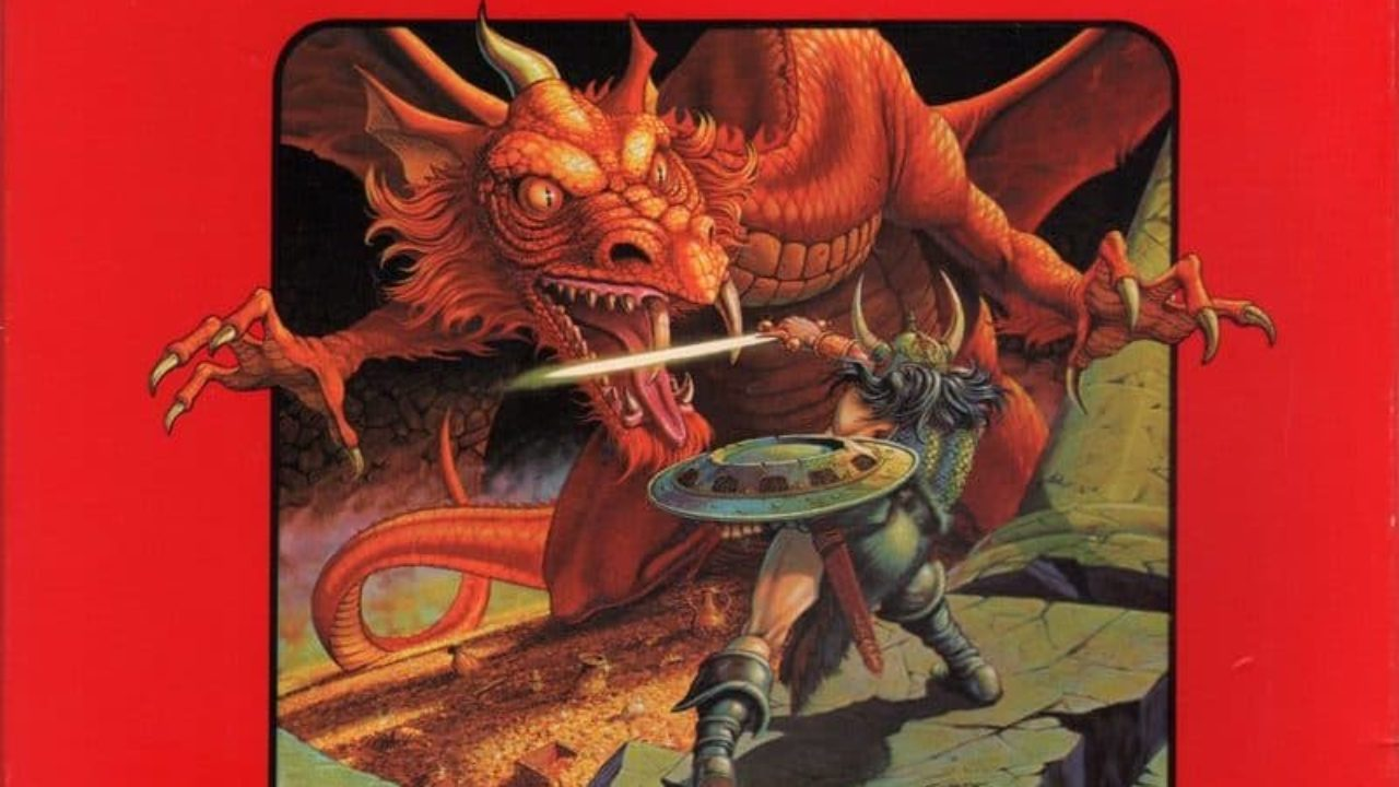 D&D Editions: Dungeons & Dragons Red Box Basic Set (1977