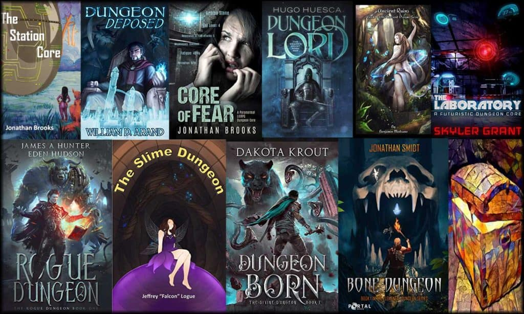Best Dungeon Core POV LitRPG Books