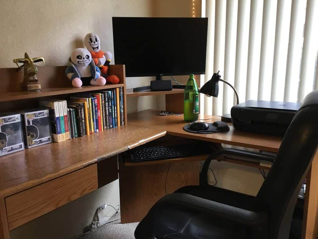 LitRPG Author CAA Allen Workspace