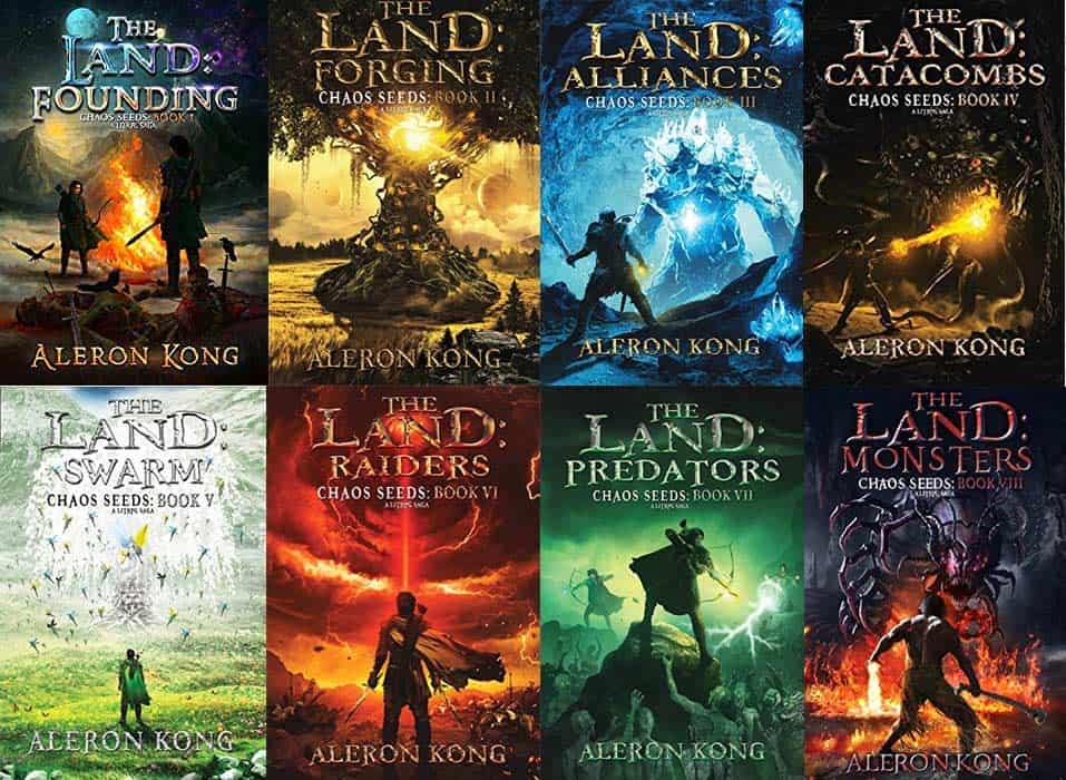 The LAnd Book Order by Aleron Kong